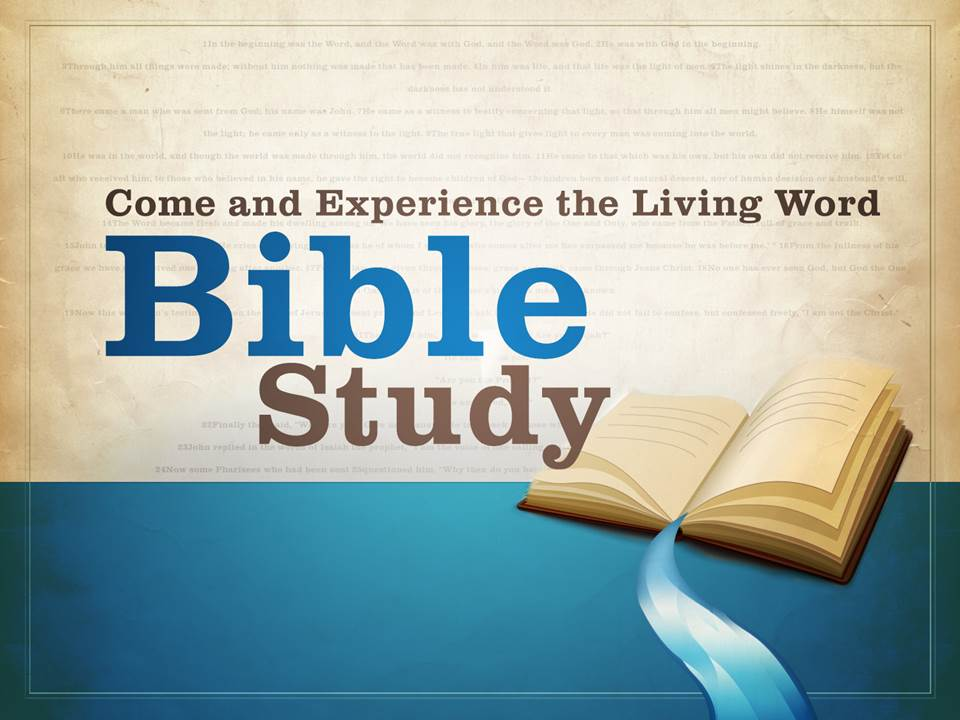 Adult Bible Study (Online)